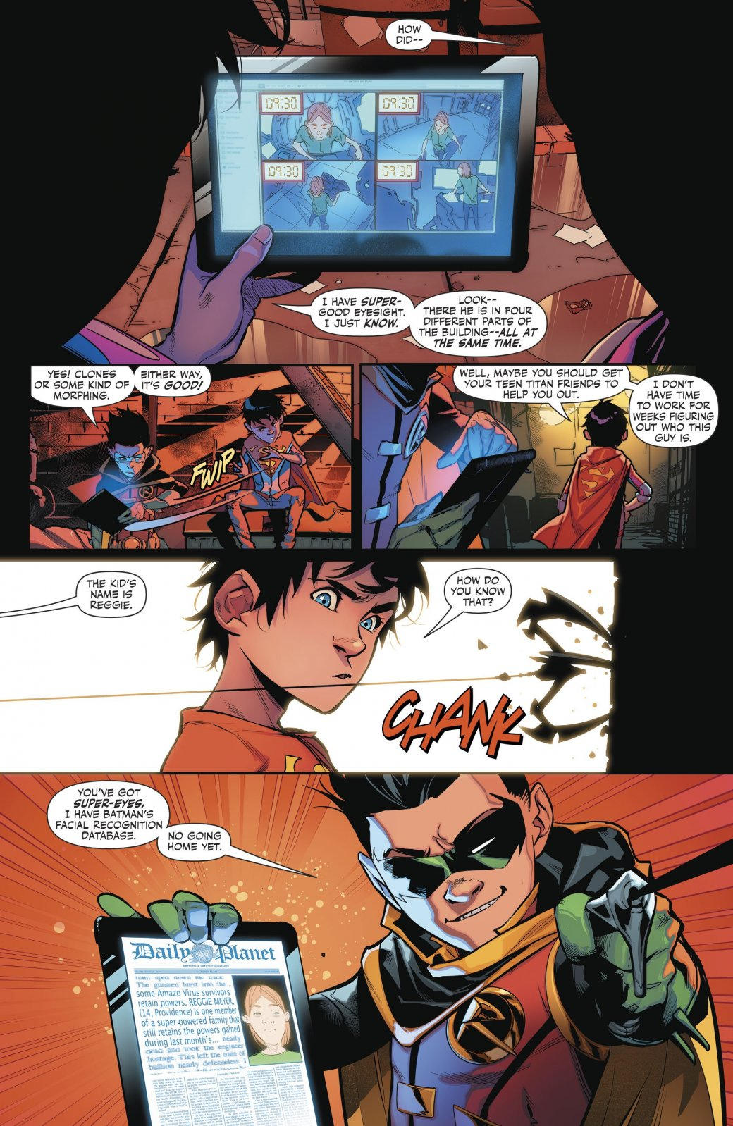 Супербой и Робин столкнулись со своим первым суперзлодеем - Изображение 3
