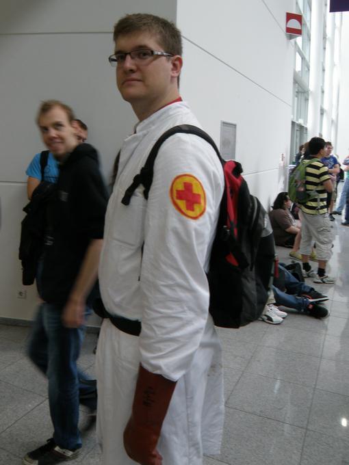 GamesCom 2011. Впечатления. Booth babes, косплей и фрики - Изображение 21