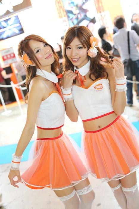 Девушки с Asia Game Show 2012 - Изображение 29
