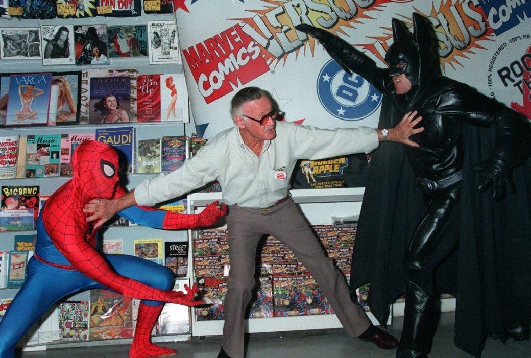 Стэн Ли предложил спасти фильмы по комиксам DC - Изображение 1