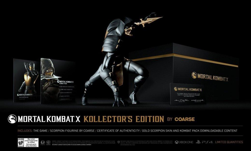 Коллекционное издание Mortal Kombat X: фигурка Скорпиона за $150 - Изображение 1