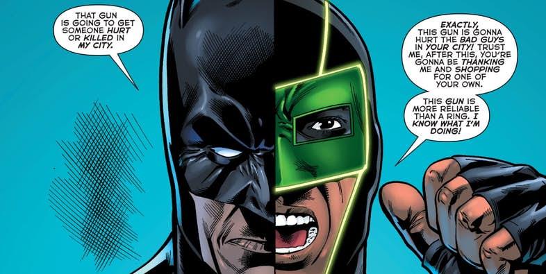 Зеленому фонарю больше не нужен пистолет, и все благодаря Бэтмену. - Изображение 1