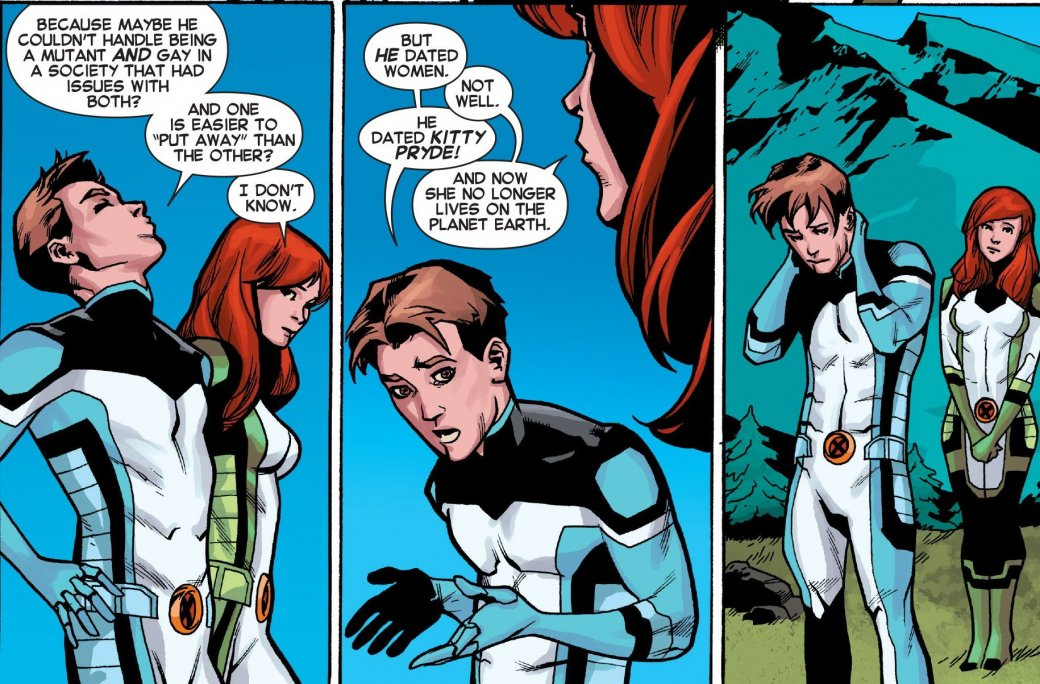 Как Marvel сменили сексуальную ориентацию Бобби «Айсбергу» Дрейку - Изображение 7