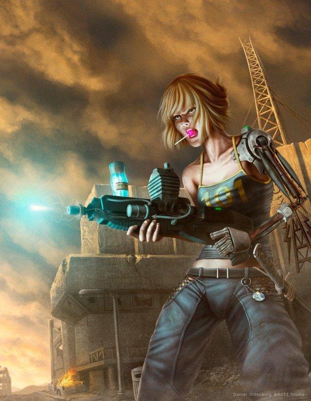 Лучший арт мира Fallout - Изображение 54