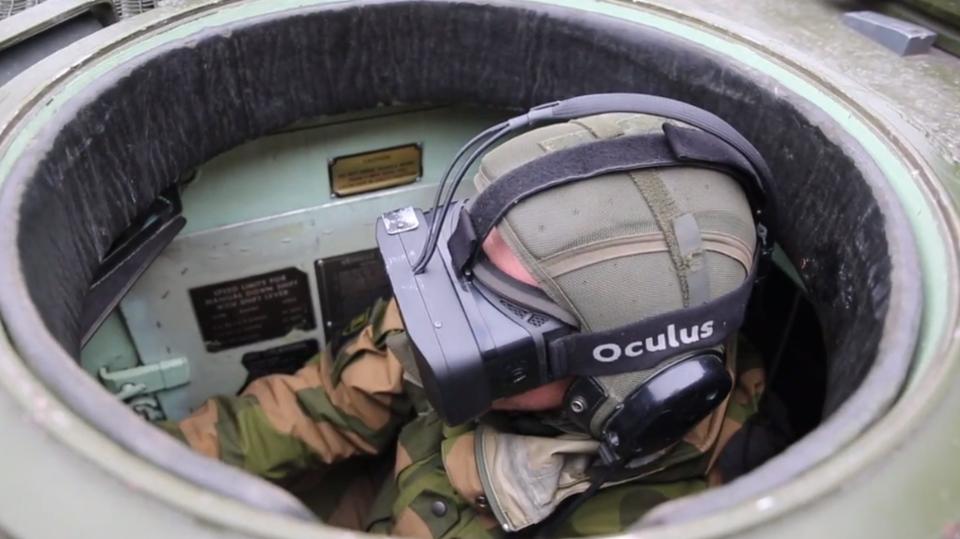 Норвежские военные оборудовали танки очками Oculus Rift  - Изображение 1