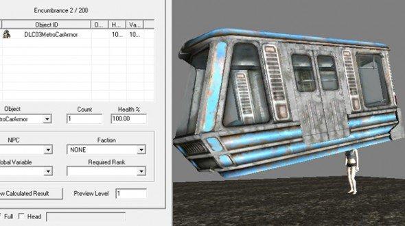 Геймдизайн от бога: в Fallout 3 поезд был «прикреплен» к голове героя - Изображение 1