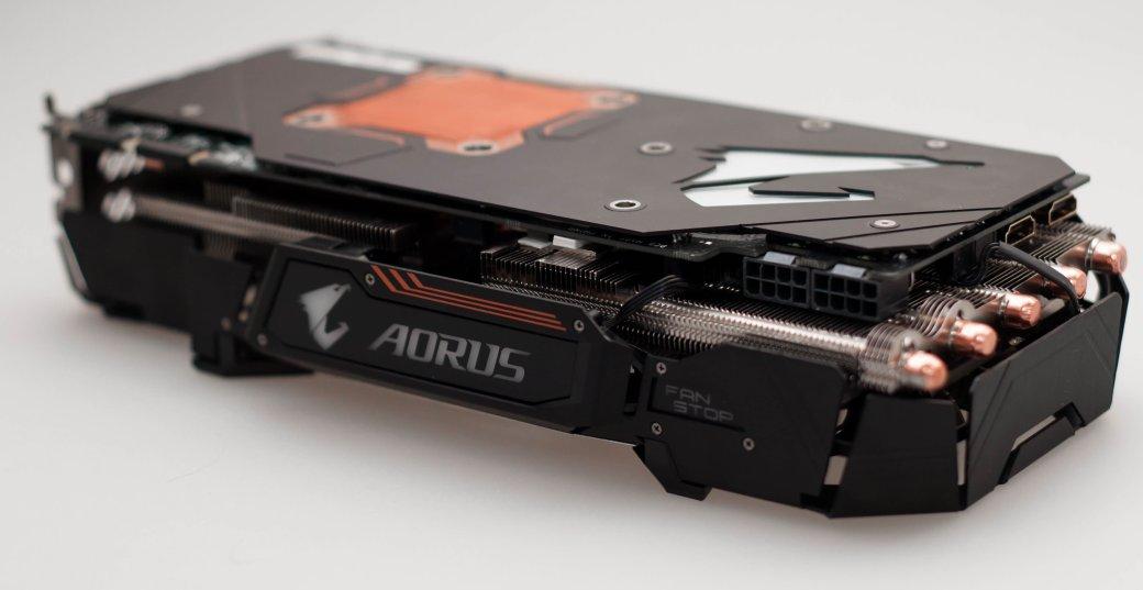 Обзор видеокарты Aorus GTX 1080 Xtreme Edition 8G - Изображение 12