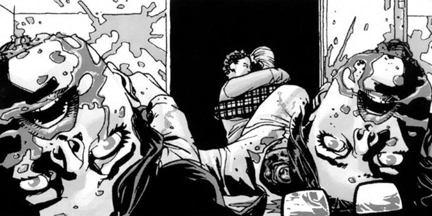12 самых жестоких сцен в комиксе «Ходячие мертвецы». - Изображение 5