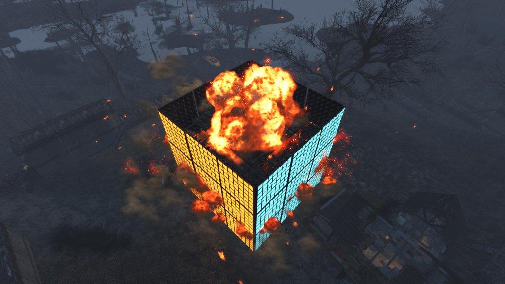 В Fallout 4 построили гигантский кубик Рубика - Изображение 5