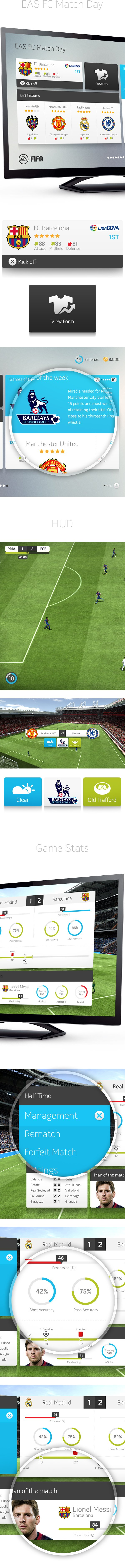 В сети появился дизайнерский прототип интерфейса FIFA - Изображение 5