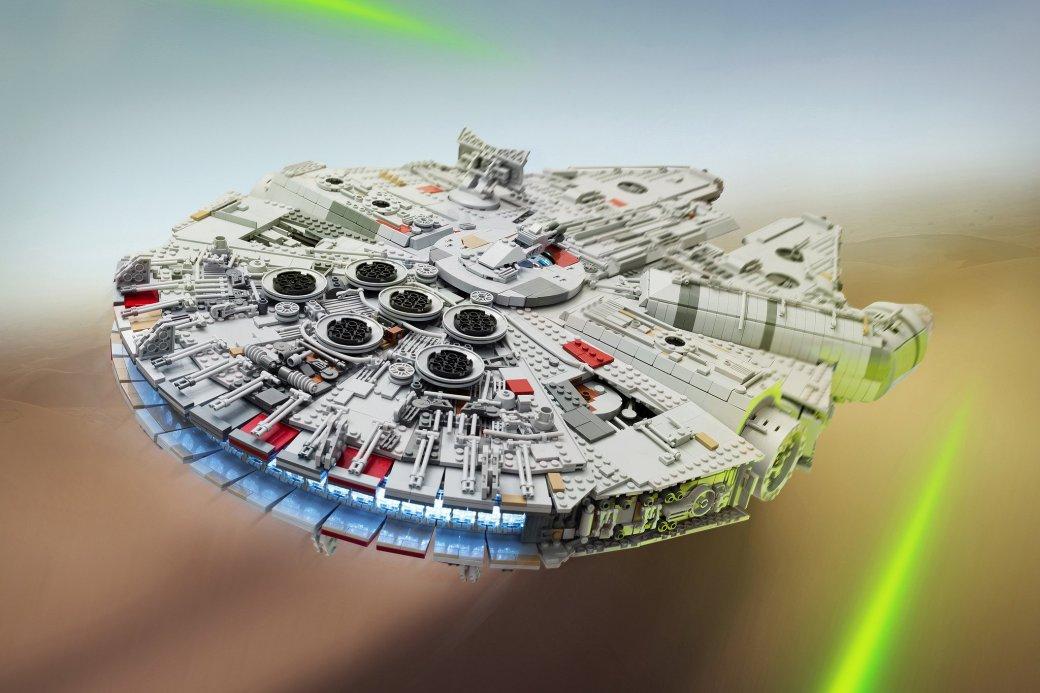 Фанат Star Wars построил идеальную модель «Сокола тысячелетия» - Изображение 1