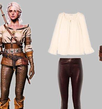 Одеваемся как персонажи игры «Ведьмак 3»