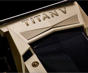 Nvidia представила Titan V— первую видеокарту наVolta за$3000