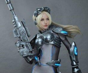 Оцените очаровательный косплей Новы из StarCraft 2