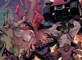 Человек-паук решил помочь Дэдпулу остановить хаос в Нью-Йорке
