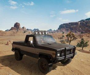 Автомобиль, который будет присутствовать только на пустынной карте в PUBG