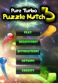 Pure Turbo Puzzle Match 3 – фото обложки игры