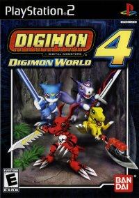 Digimon World 4 – фото обложки игры