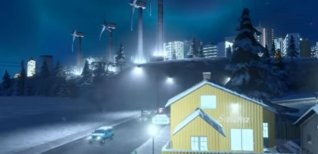 Cities: Skylines. Трейлер DLC Snowfall