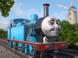 Отошли отТирана вплавках вResident Evil2? Тогда пришло время мода спаровозиком Томасом!