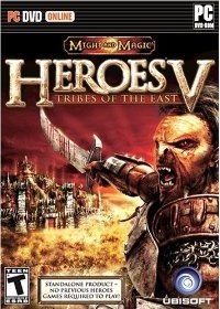 Heroes of Might and Magic 5: Tribes of the East – фото обложки игры