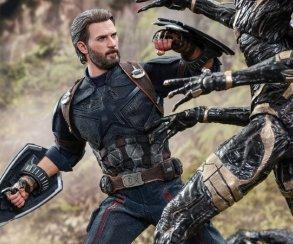 Взгляните нановую фигурку Капитана Америка из«Войны Бесконечности» отHot Toys