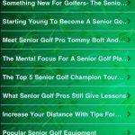 Скриншот All About Golf For Seniors – Изображение 1