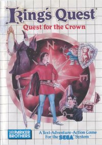 King's Quest - Quest for the Crown – фото обложки игры