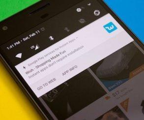 Приложения из Google Play теперь можно запускать без установки