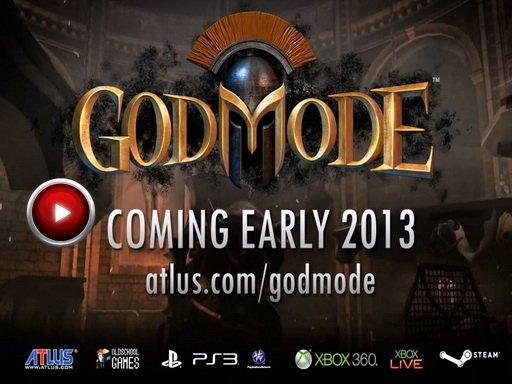 God Mode. Геймплейный трейлер кооперативного юмористического шутера