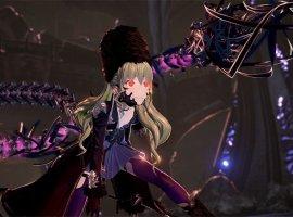 Сражения смини-боссами вновом геймлейном ролике Code Vein— Dark Souls встиле аниме