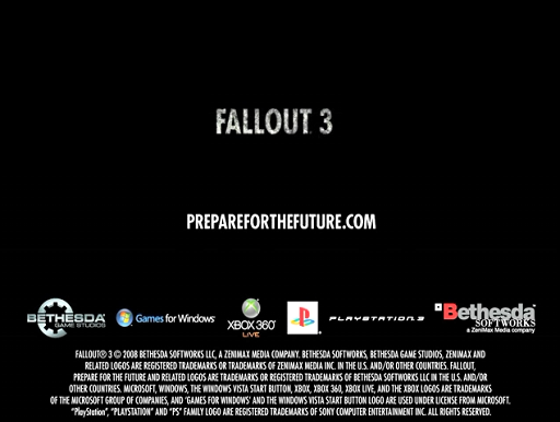 Fallout 3 Cinematic & Gameplay Trailer
