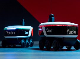 «Яндекс» запустил своего робота-курьера «Яндекс.Ровер»