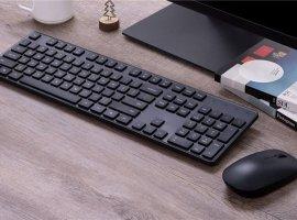 Комплект избеспроводной клавиатуры имыши Xiaomi оценили в900 рублей
