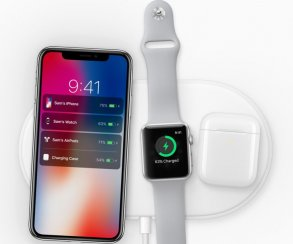 Apple представила беспроводное зарядное устройство – AirPower