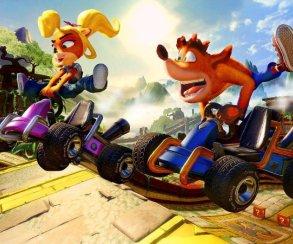 «Крэш вернулся, детка» — критикам понравился ремейк Crash Team Racing: Nitro-Fueled