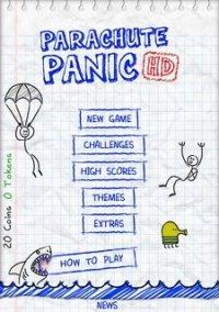 Parachute Panic HD – фото обложки игры