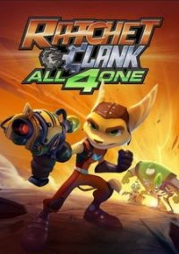 Ratchet and Clank: All 4 One – фото обложки игры
