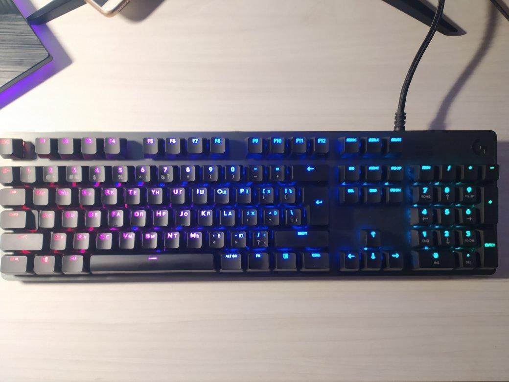 Обзор клавиатуры Logitech G512 Carbon— алюминиевый RGB-стиляга для геймеров | Канобу - Изображение 11552