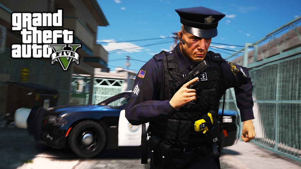 Гифка дня: коп-каскадер вGrand Theft Auto5 | Канобу - Изображение 0