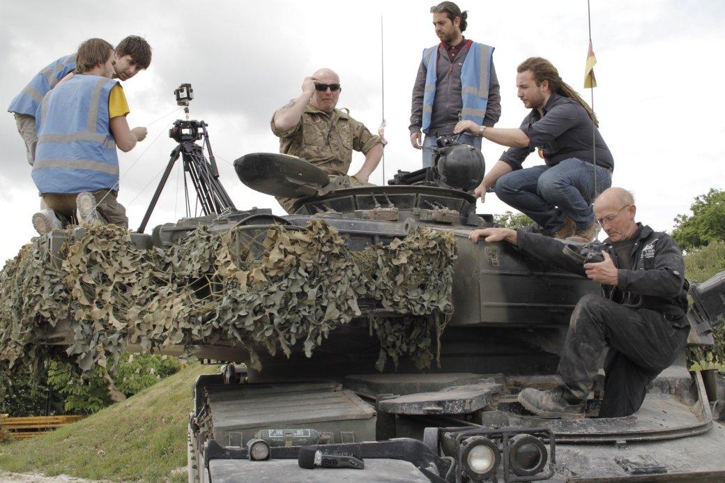 Виртуальная поездка на танке | Канобу