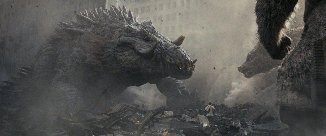 Огромные, жуткие животные иотважный Дуэйн Джонсон нановых кадрах фильма «Рэмпейдж». - Изображение 3