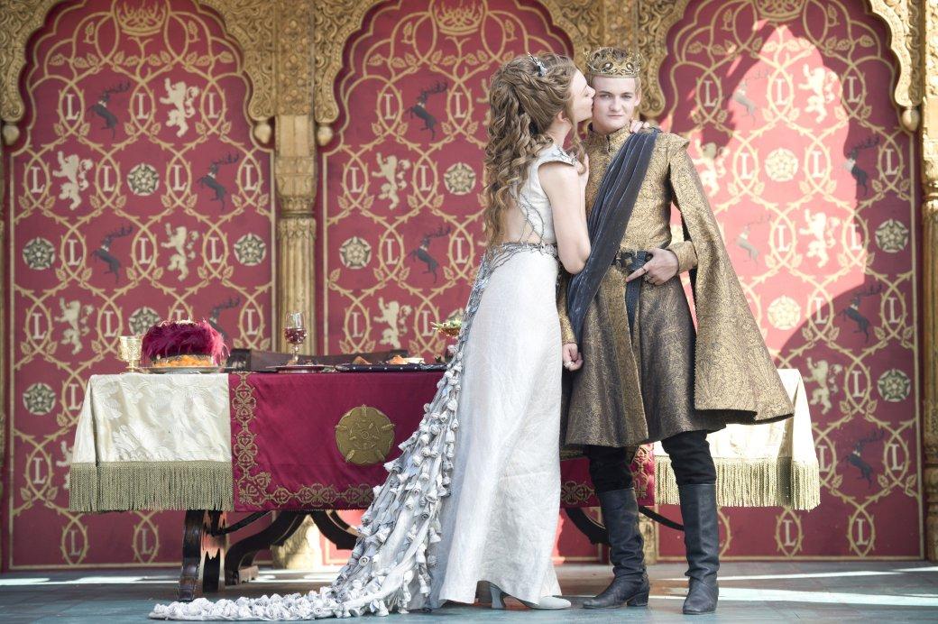 Король Джоффри неудачно женился во второй серии «Игры престолов» | Канобу