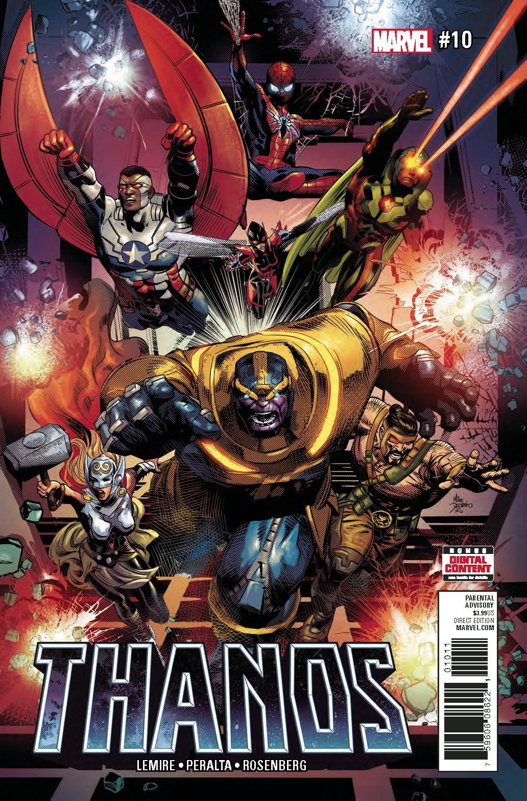 Комиксы недели. Финал Secret Empire, Доктор Дум иТанос среди героев | Канобу - Изображение 0