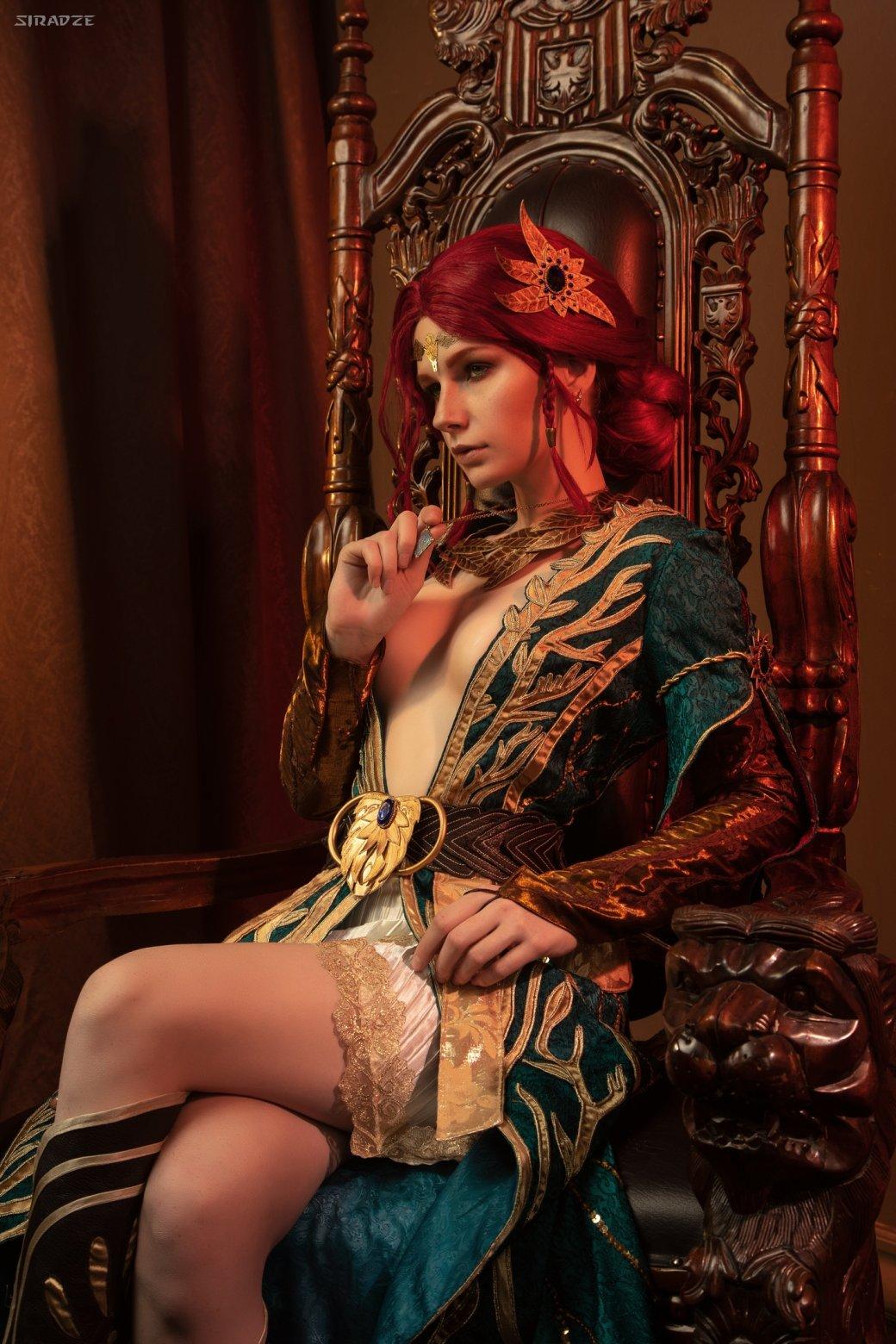 Отличный косплей чародейки Трисс Меригольд из«Ведьмака» | Канобу - Изображение 1163
