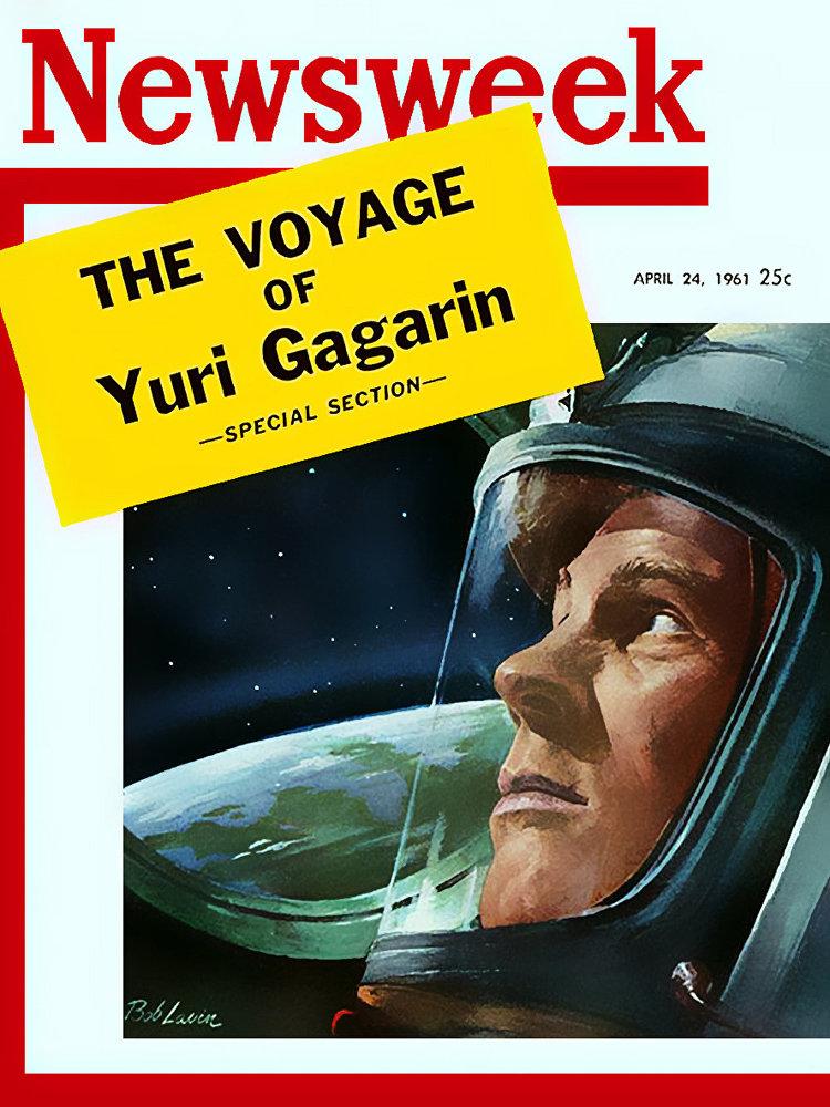 Американские обложки журналов про русских космонавтов | Канобу - Изображение 7