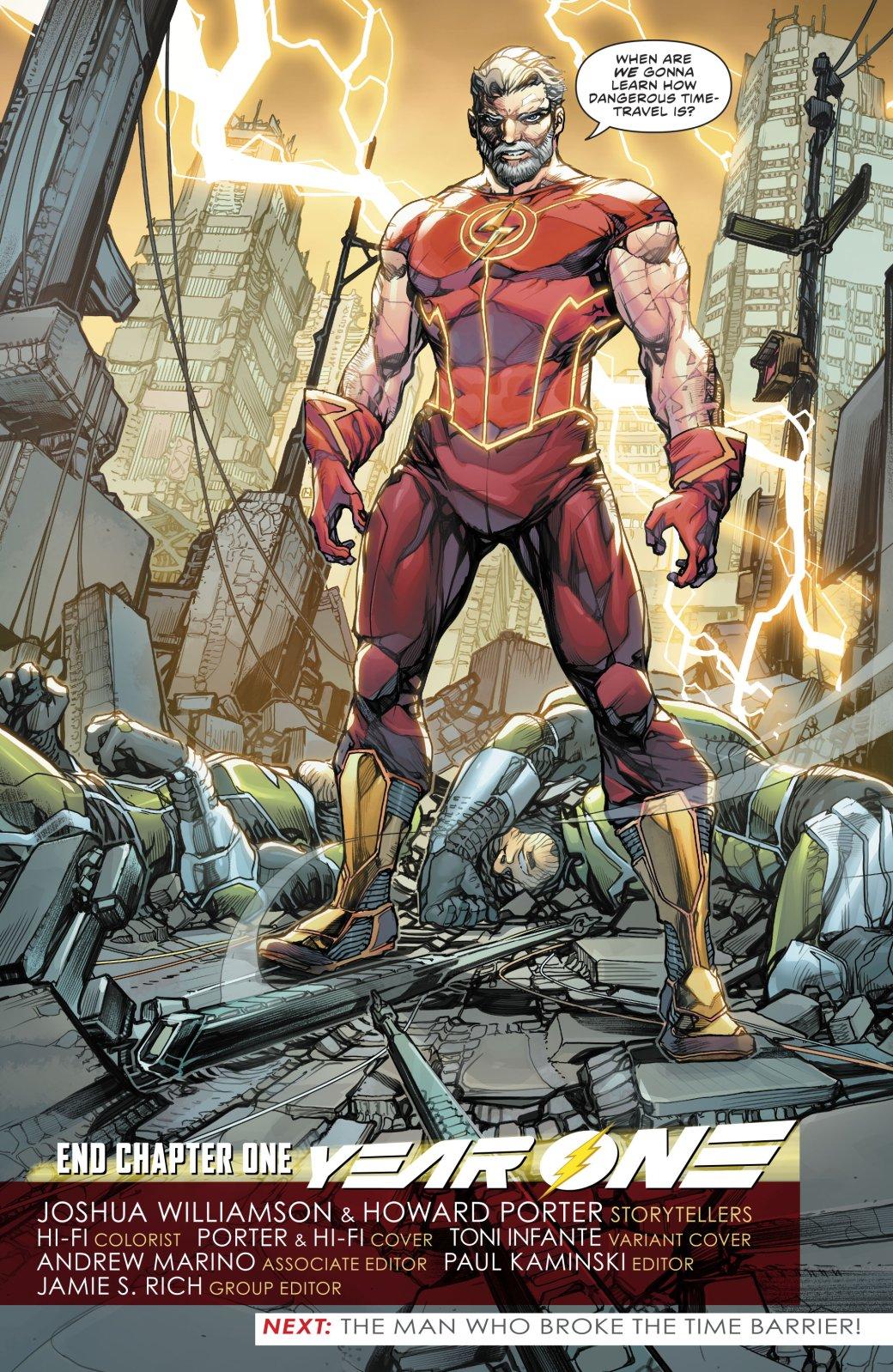 Какая неожиданная встреча произошла сФлэшем впервом выпуске Flash: YearOne? | Канобу - Изображение 5326