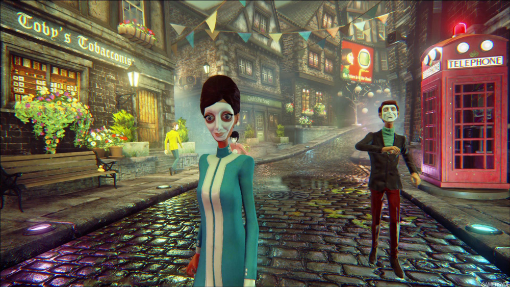 Вау! Авторы We Happy Few выложили стильный геймплейный трейлер игры с кучей эпика   Канобу - Изображение 3949