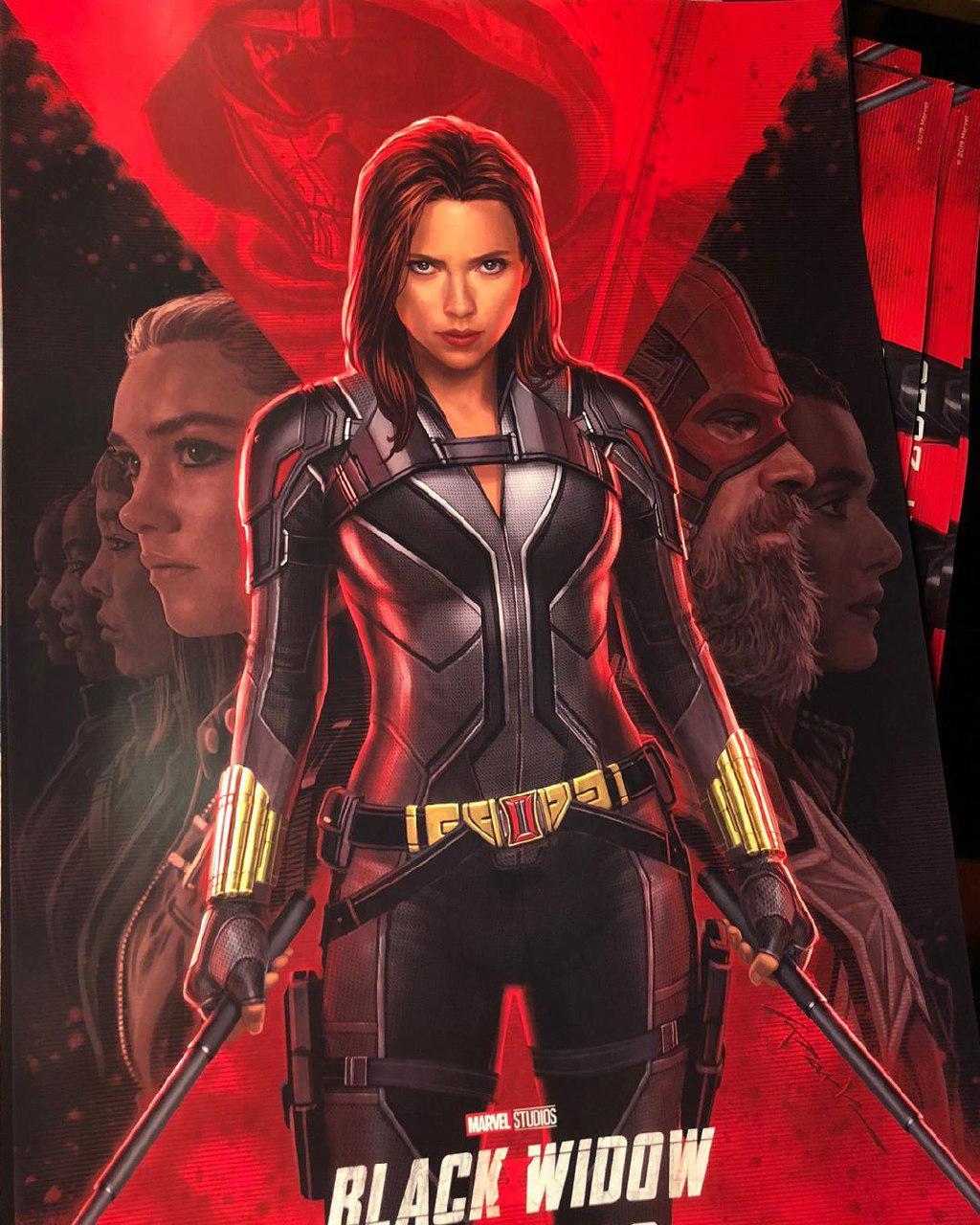 Как выглядят постеры «Черной вдовы» ибудущих сериалов Marvel | Канобу - Изображение 1