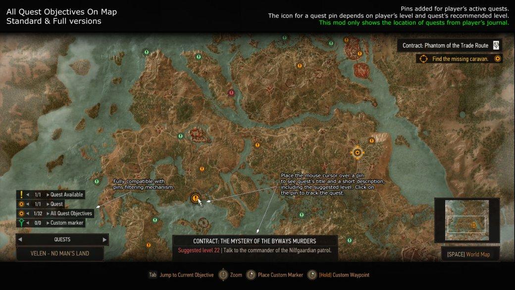 7 лучших исамых полезных модов для The Witcher 3: Wild Hunt | Канобу - Изображение 0